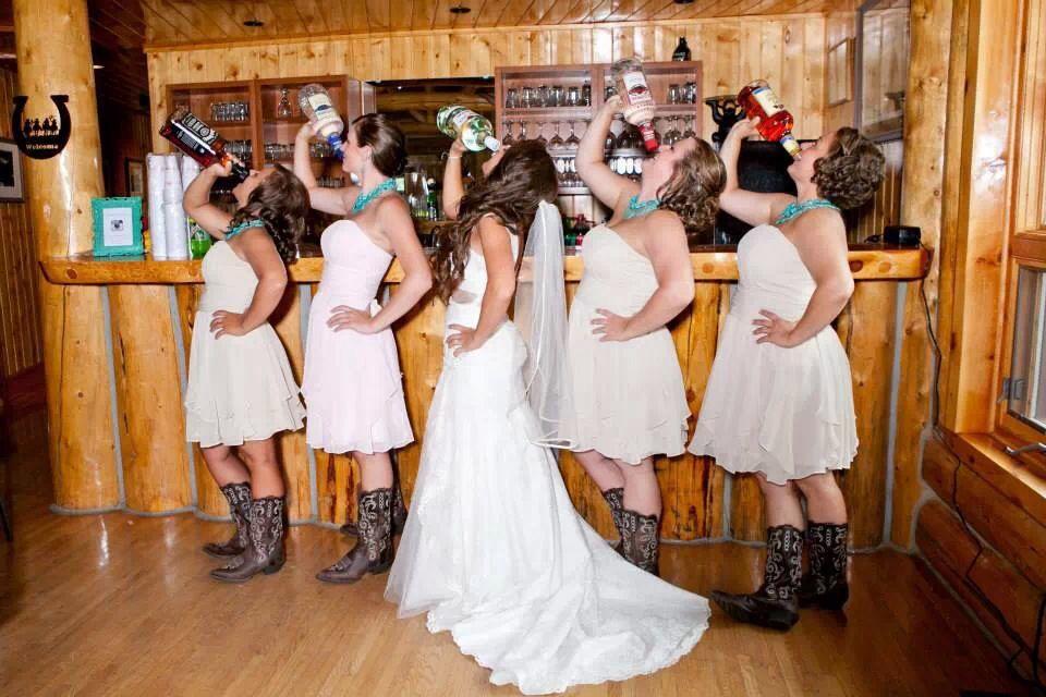 Fun Wedding Ideas Pinterest: Wyoming Wedding, Bridesmaids, Rustic Wedding, Funny