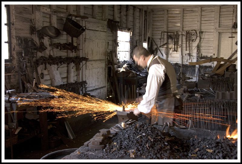 colonial blacksmith workshop. colonial blacksmith pictures | yáñez all galleries \u003e\u003e anthro \u003e workshop s