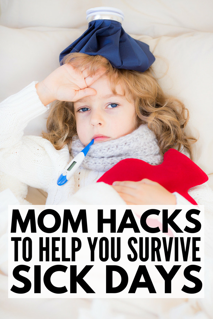 Mom Hacks For Sick Kids Tips And Tricks To Keep Them Comfortable Sick Kids Stuffy Nose Remedy Kids Cough