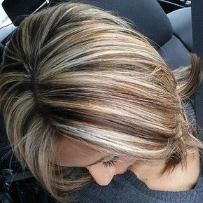 Short Hairstyles With Highlights And Lowlights Magnificent Highlight En Lowlight Ideeën Voor Korte En Halflange Kapsels  Hair