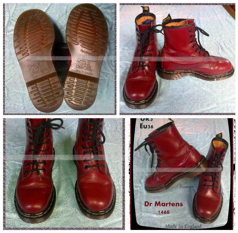 Dr Martens Made in England) British