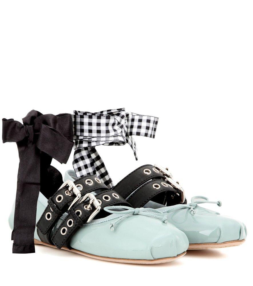 Sandales lacées à ornementsMiu Miu wypOp2