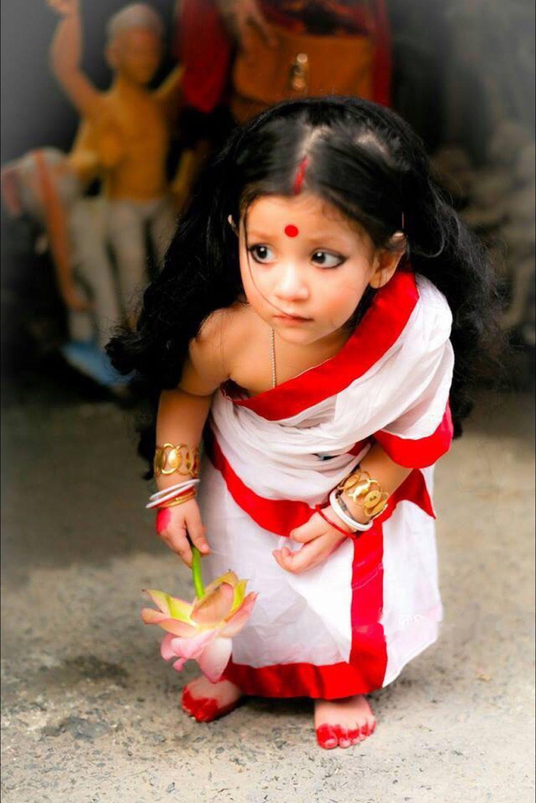 Indian woman bab