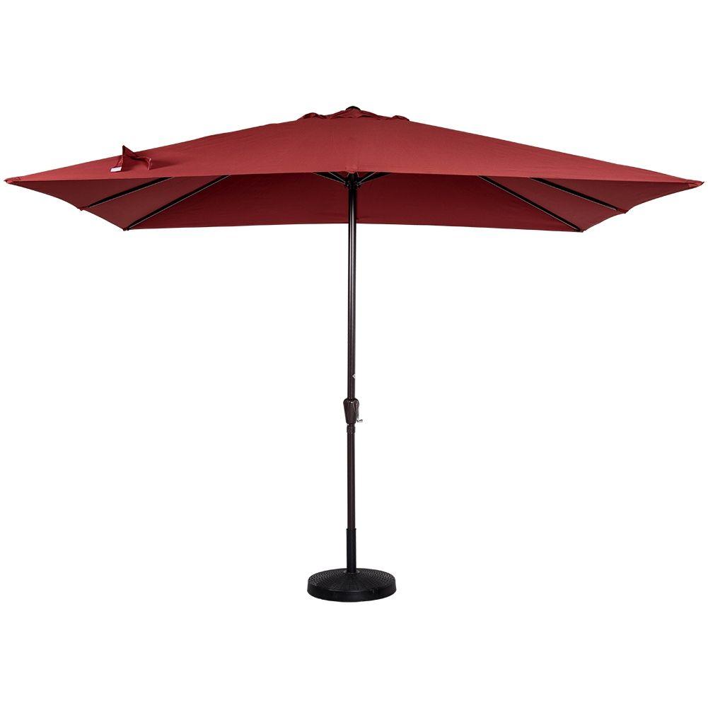Red Rectangular Patio Umbrella - Red Rectangular Patio Umbrella Patio Decor Pinterest