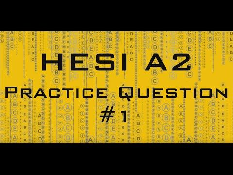 Free Hesi A2 Practice Question Reviewed Detailed Study