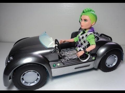 Barbie Car Makeover For Monster High Doll Deuce Gorgon Thalia S