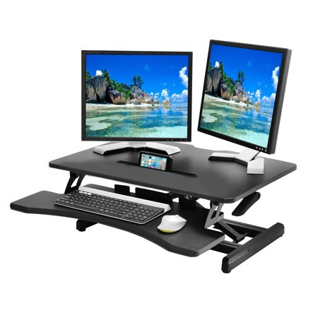 Electronics Desk Riser Adjustable Standing Desk Converter