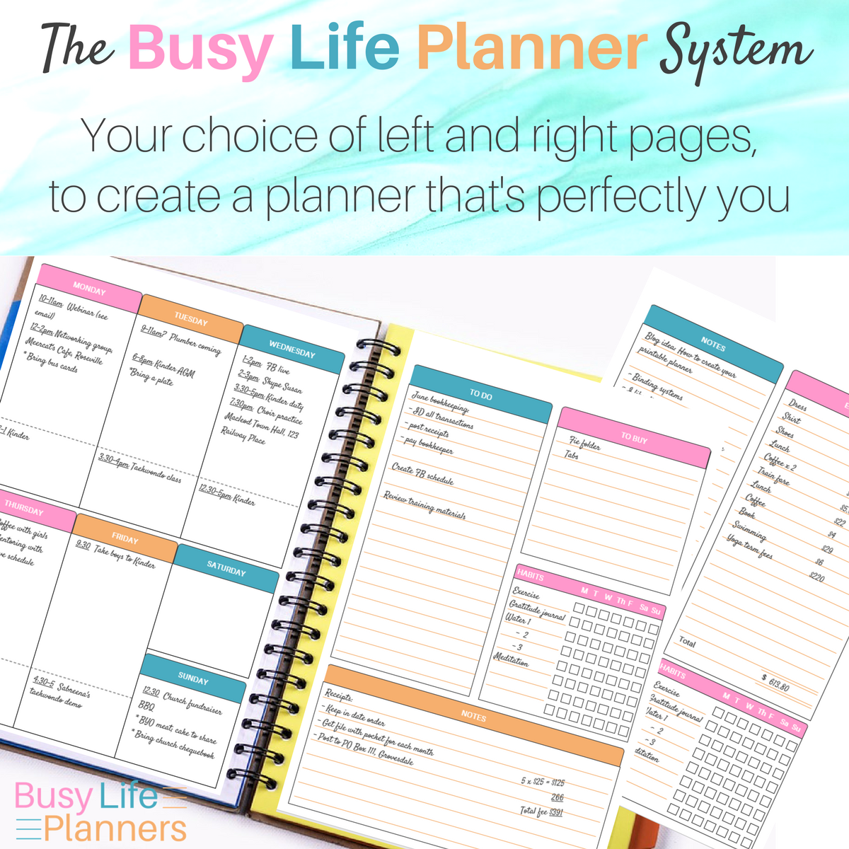 An Amazingly Versatile Diy Printable Planner Lots Of