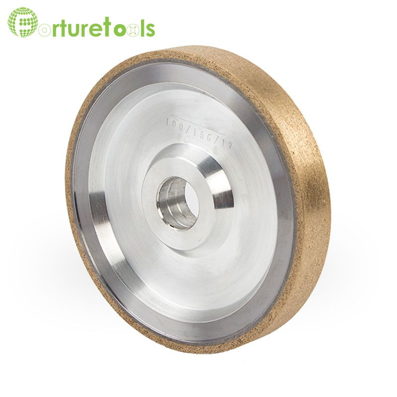 4 Inch Metal Bond Diamond Grinding Wheel For Optical Glass Lens Auto Grinder Machine Rough Grinding Glasses Abrasive To Glass Material Glass Ceramic Auto Glass
