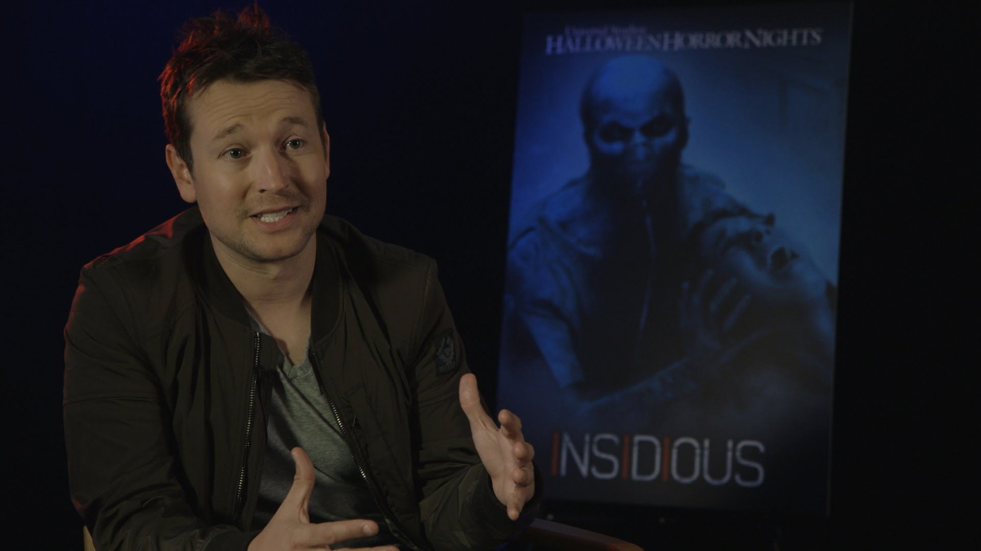 Cast Of Insidious Chapter 3 Talk About Halloween Horror Nights Halloween Horror Nights Insidious Horror