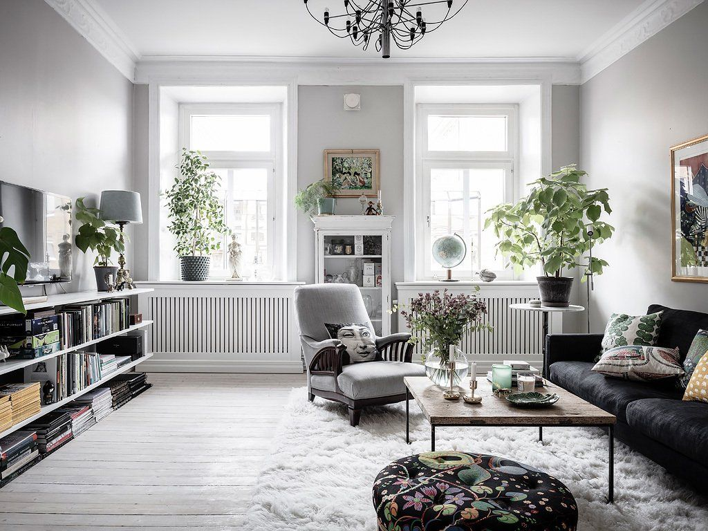 Cosy Scandinavian Home With Personality Traditional Interior