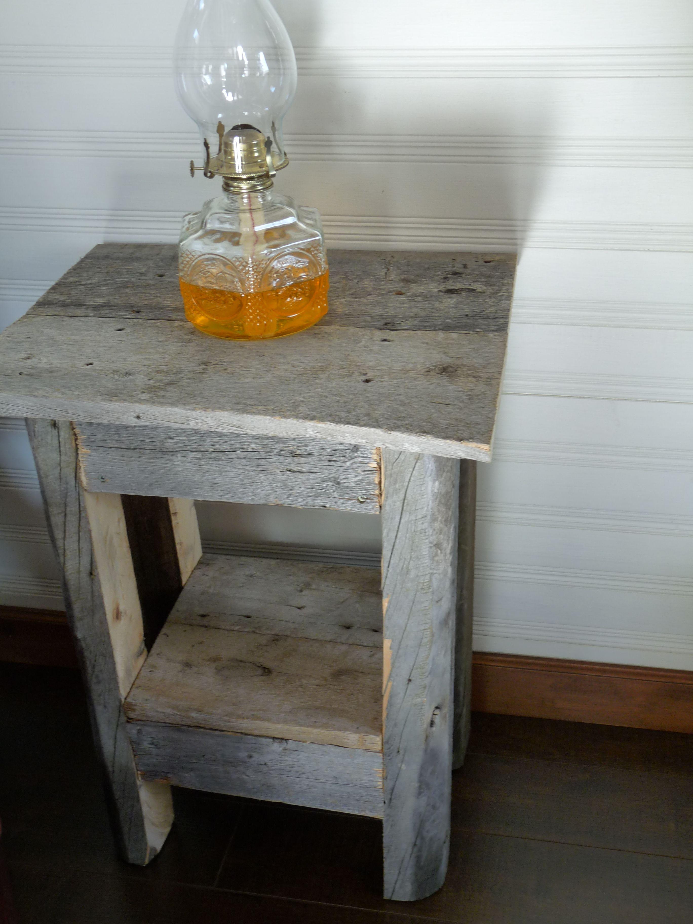 Table Caf En Bois De Grange Projets Essayer Pinterest # Table Bois De Grange