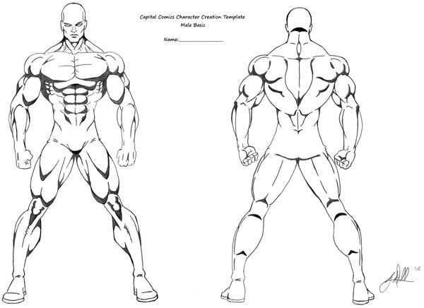 muscles template art references in 2018 pinterest character