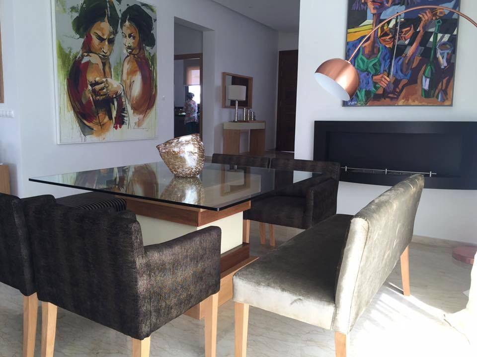 Décoration et aménagement du0027espace, salle à manger Sophia Jamai
