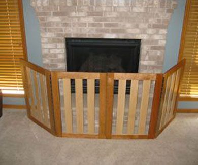 Diy Fireplace Baby Proofing