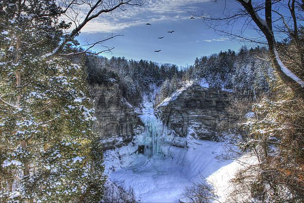 Taughannock Falls by David Simons