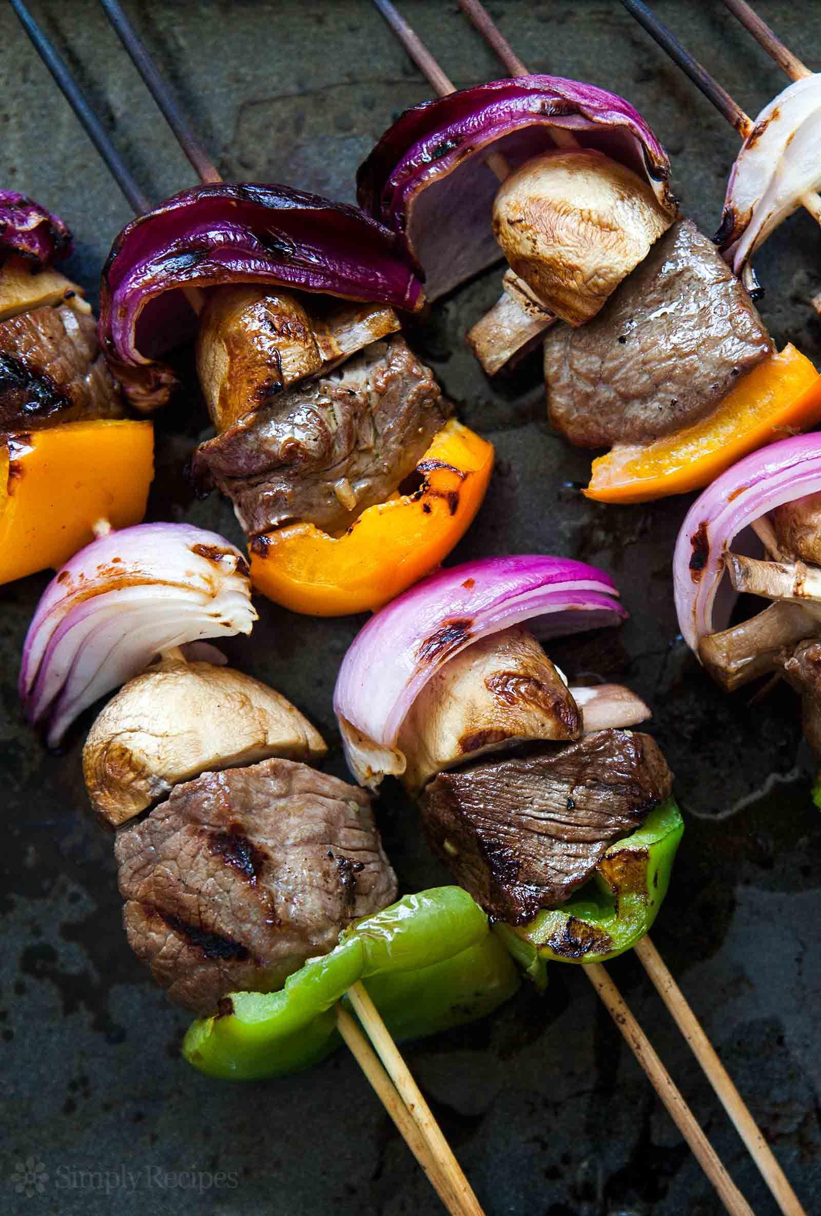 Beef Kabobs Recipe Shish Kebabs Recipe Beef Kabob Recipes Grilled Meat Recipes Kebab Recipes Beef