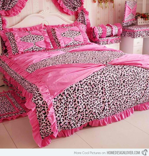 Bedrooms With Leopard Accents Print Bedding Leopard Print Bedding Ruffle Bedding Sets Lovely bedrooms with leopard accents