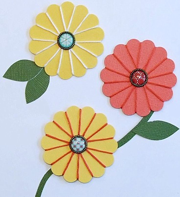 Diy flat paper flowers for crafting scrapbooking flower and craft diy flat paper flowers for crafting mightylinksfo