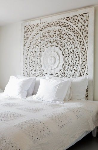 Stunning head board saw heaps of carvings like this in thailand