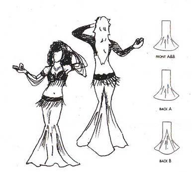 Belly Dance / Tribal Pattern #9802 - The Marvelous Mermaid ...
