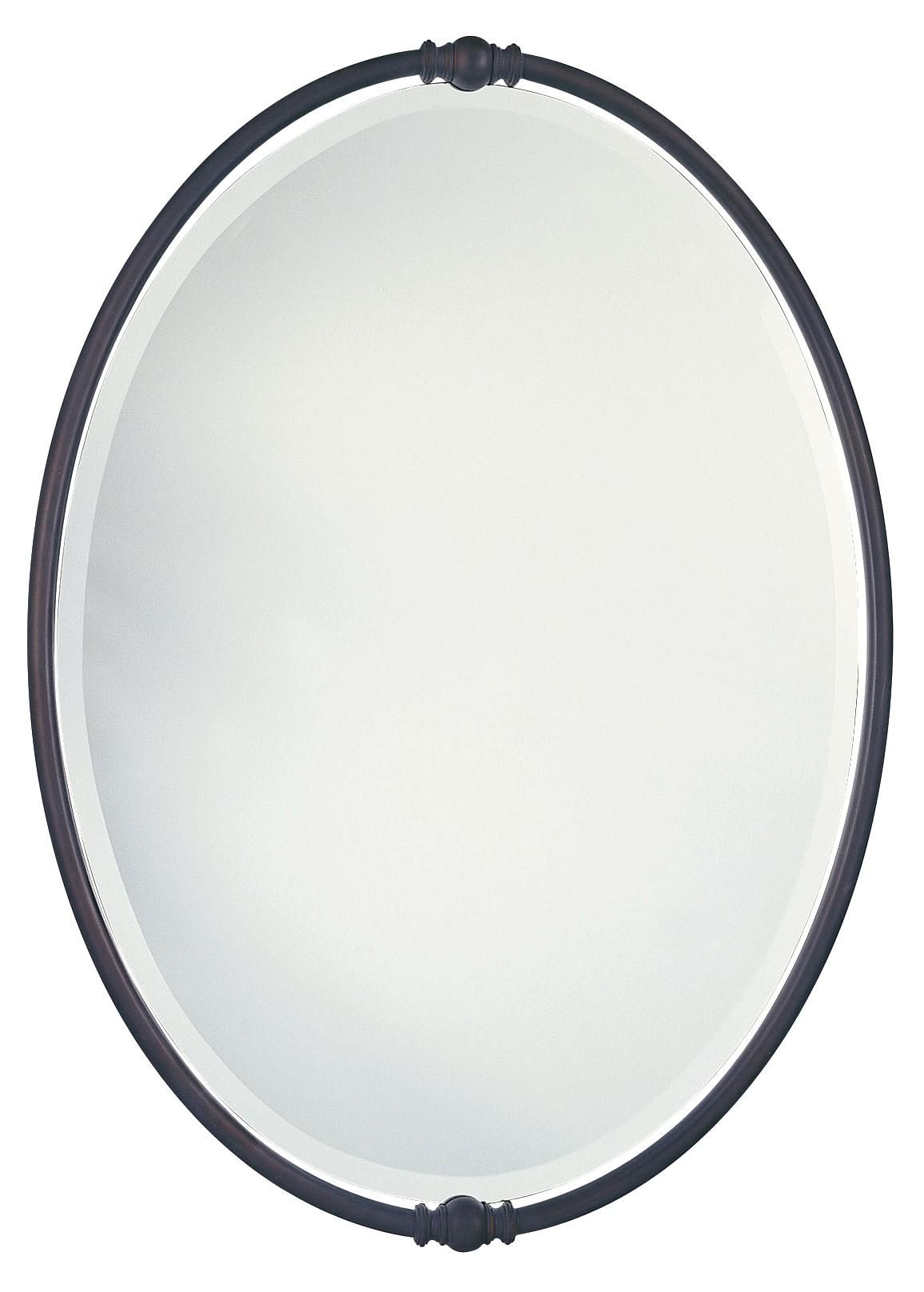 Murray Feiss Boulevard Collection Oval Wall Mirror -