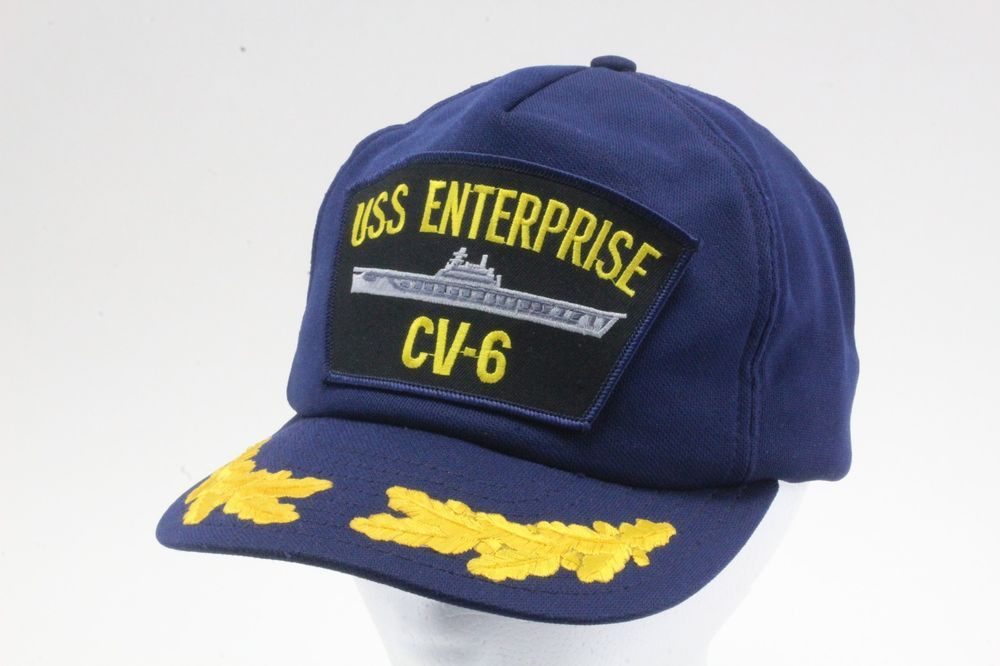USS Enterprise CV-6 Gold Leaf Visor Navy Hat. Made In The USA. Aircraft  Carrier.  fashion  clothing  shoes  accessories  mensaccessories  hats (ebay  link) 70eede791769