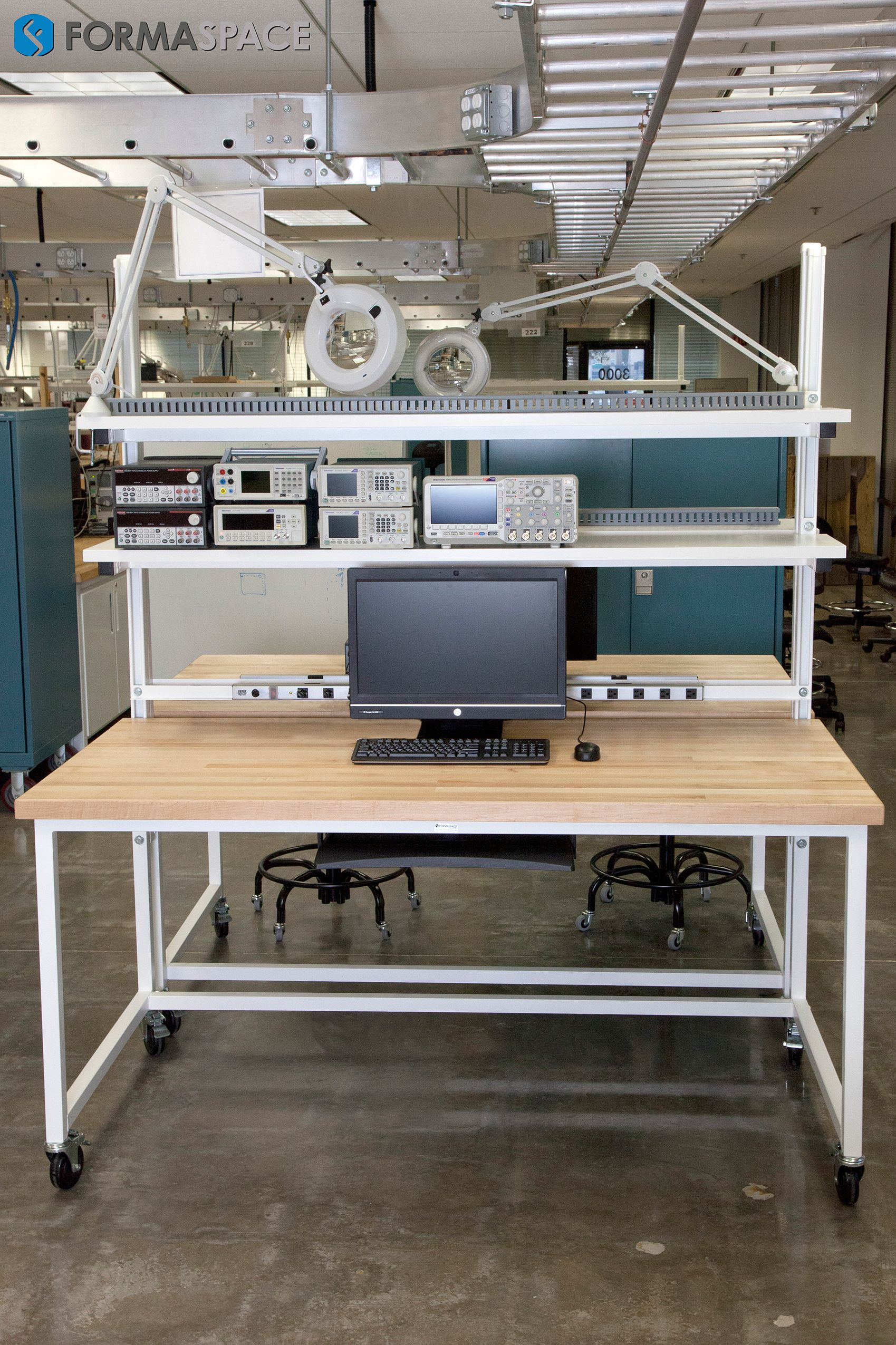 Formaspace S Workbench Gallery Features But A Few Of The Thousands Of Industrial Workbenches Laborat Electronics Lab Workbenches Workbench Plans Diy Workbench