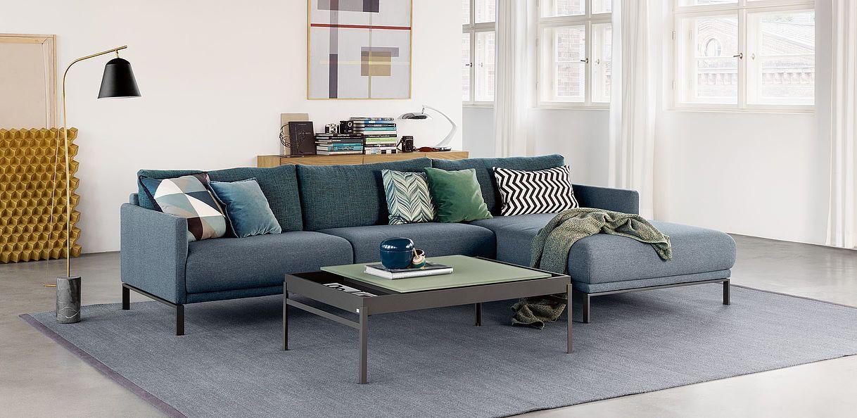 rolf benz cara - Designer Couch Modelle Komfort