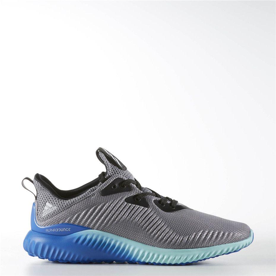 Adidas alphabounce Shoes (Grey Clear Onix Clear Aqua