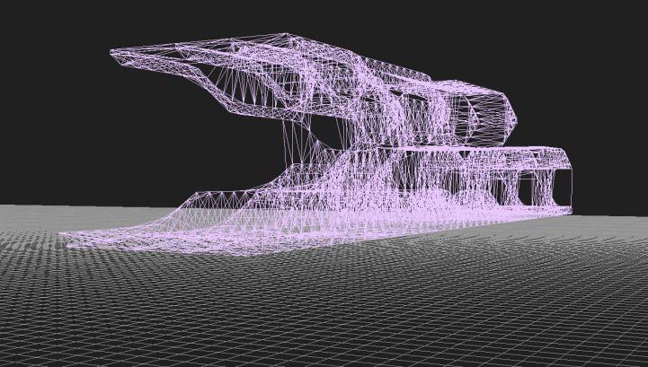 Warping 3d Grid Spaceframe Grasshopper Space Frame Architecture Grid