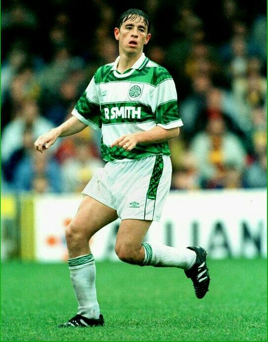 Phil O'Donnell of Celtic in 1994.