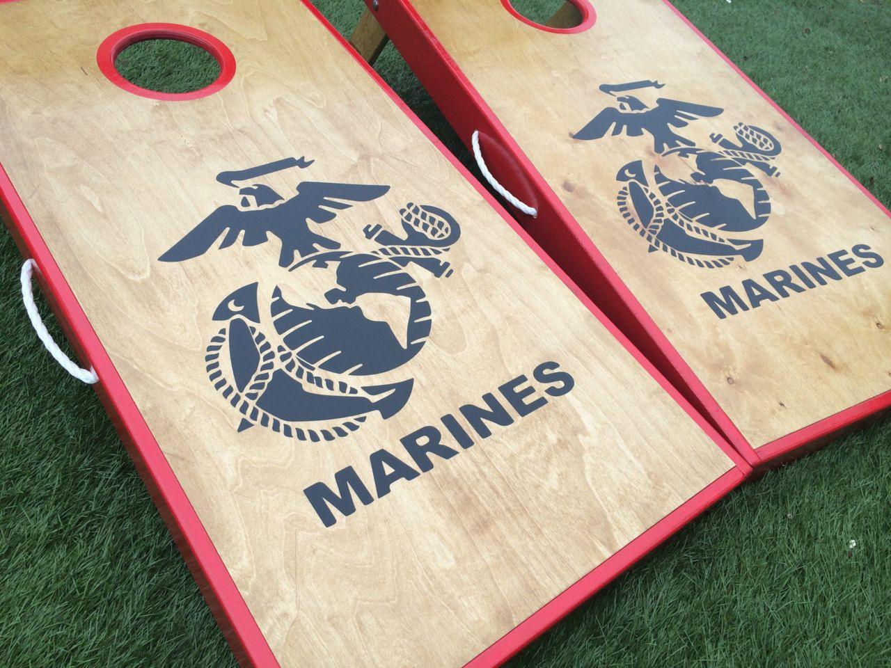 marine cornhole board - Google Search