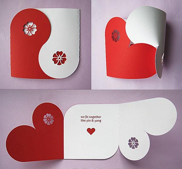 Creative Valentines card ideas 25 Beautiful Valentines Day Card – Homemade Valentine Day Cards