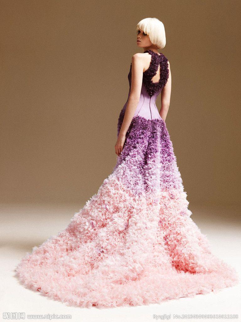 Vestido de noche Versace imagen personalizada 2012