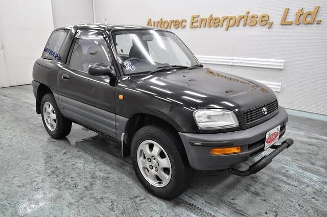 Japanese Vehicles To The World 1995 Toyota Rav4 3door 4wd For Tanzania To Dar Es Salaam Rav4 Rav4 4wd Toyota Rav4