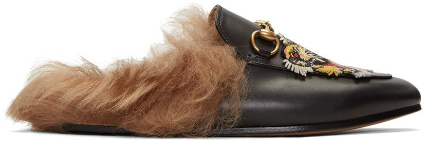 Black loafer shoes, Gucci, Gucci black
