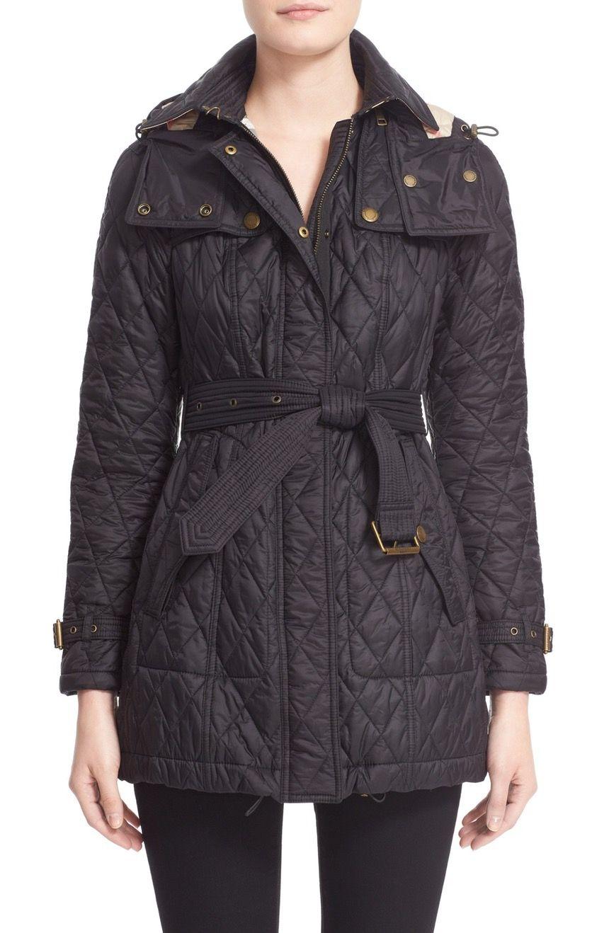 Burberry Finsbridge Belted Quilted Jacket Nordstrom Burberry Quilted Jacket Quilted Jacket Burberry Jacket