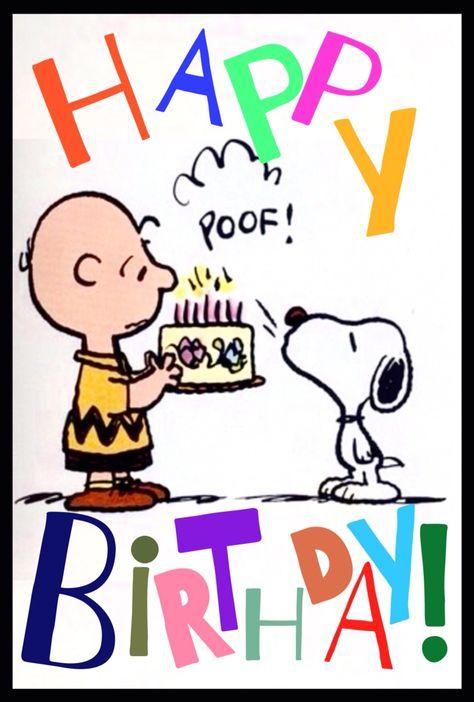 Pin Von L P Auf Not Nuts Peanuts Snoopy Geburtstag Geburtstag