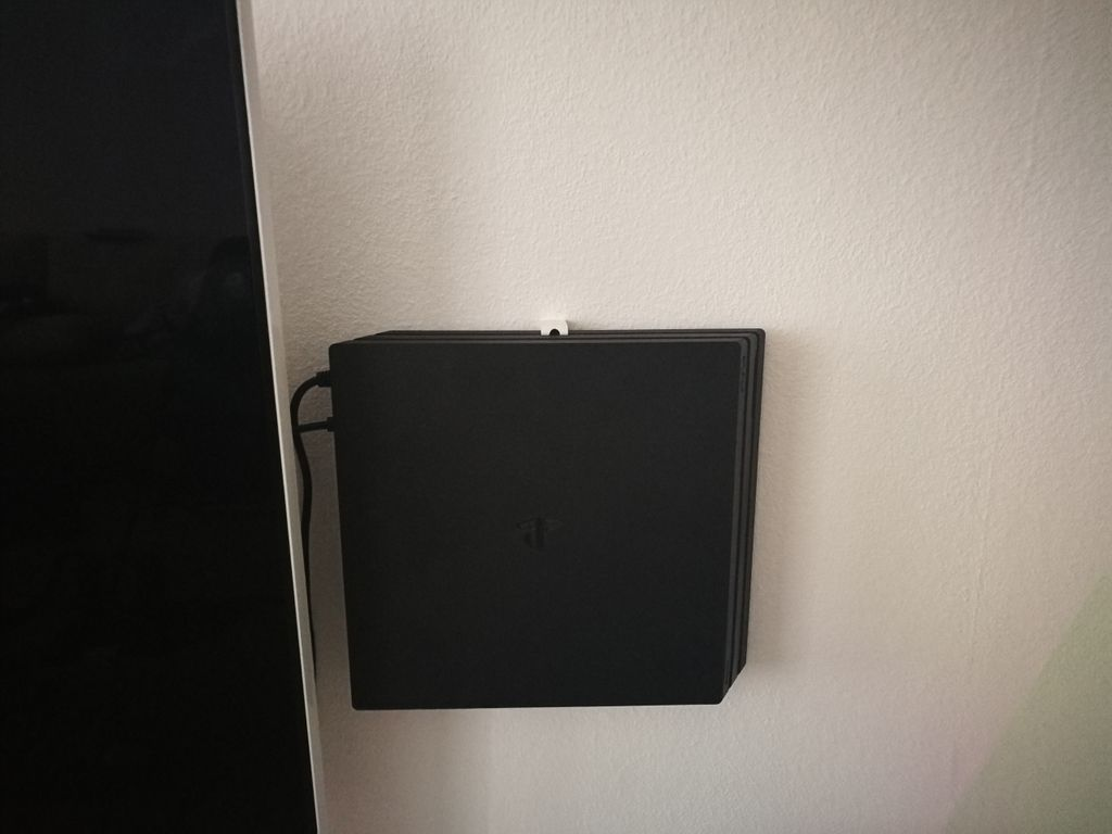 Ps4 Pro Wall Mount By Dacoon Ps4 Pro Wall Mount 3d Printing