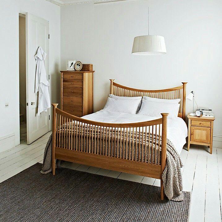 John Lewis Essence High End Bed Frame Oak Double At John Lewis Partners