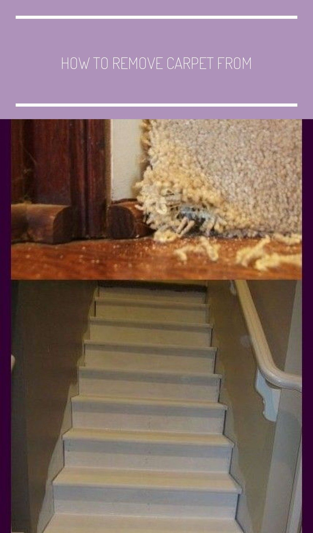 How to remove carpet from in 2020 removing carpet