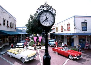 Old Town Kissimmee FLhome Of The Saturday Night Car Cruise - Old town car show time