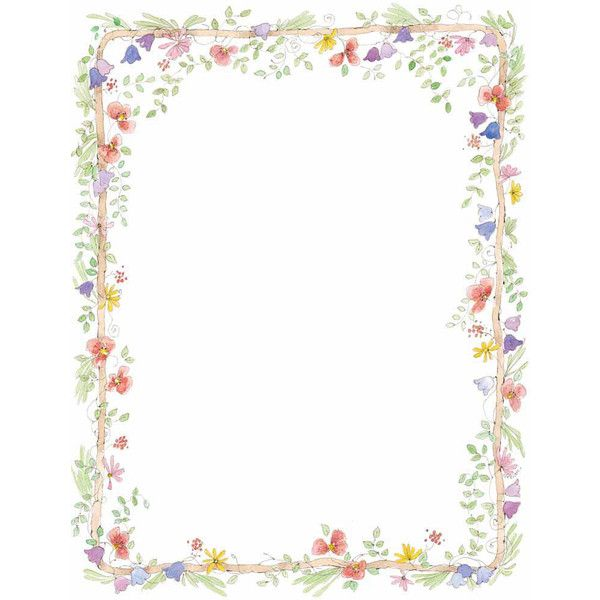 flowers borders png template frames free photo frames clipart kid