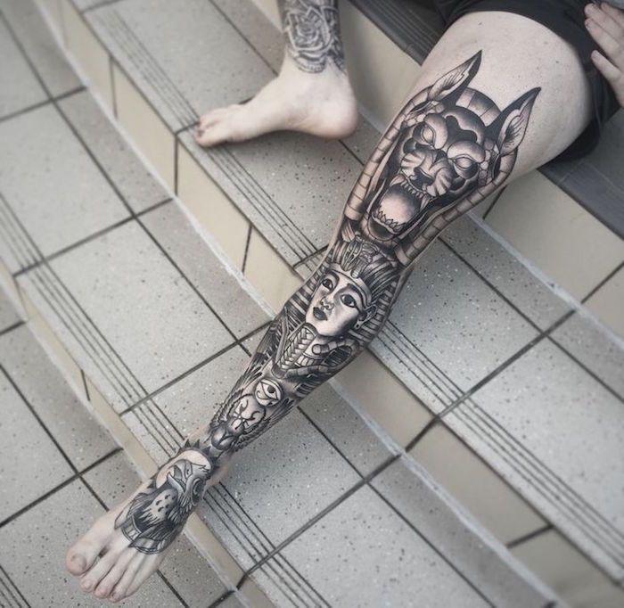 tatouage jambe – faites-vous en de belles en 50 photos | tattoo