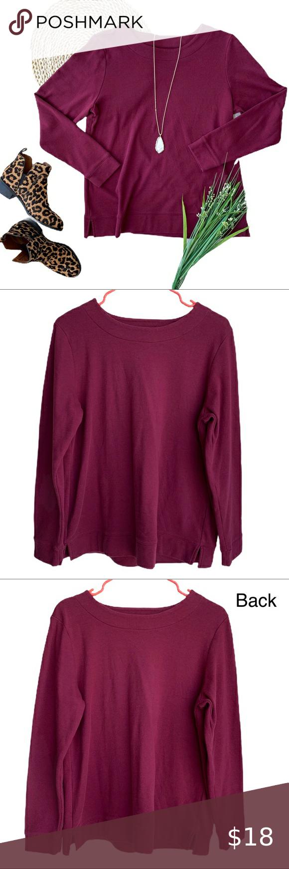 Croft Barrow Super Soft Crewneck Sweatshirt Crew Neck Sweatshirt Clothes Design Sweatshirts Women [ 1740 x 580 Pixel ]