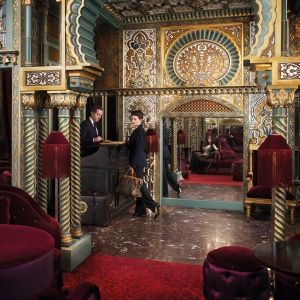 New to Paris: a Vampy Hotel With Design Steeped in Sex: Lobby