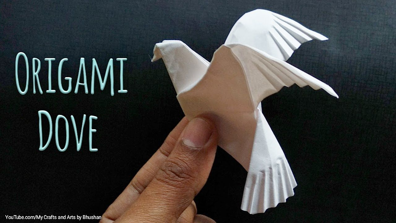 Photo of Tutorial on Origami Dove 🕊 or Pigeon || How to make an origami bird easily