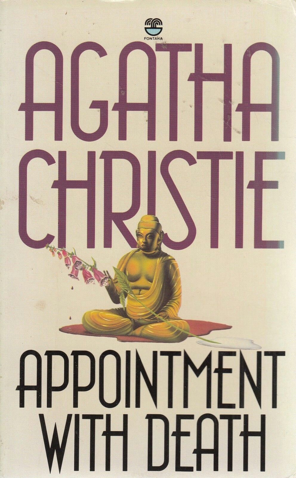 agatha christie appointment with death fontana books | book stuff