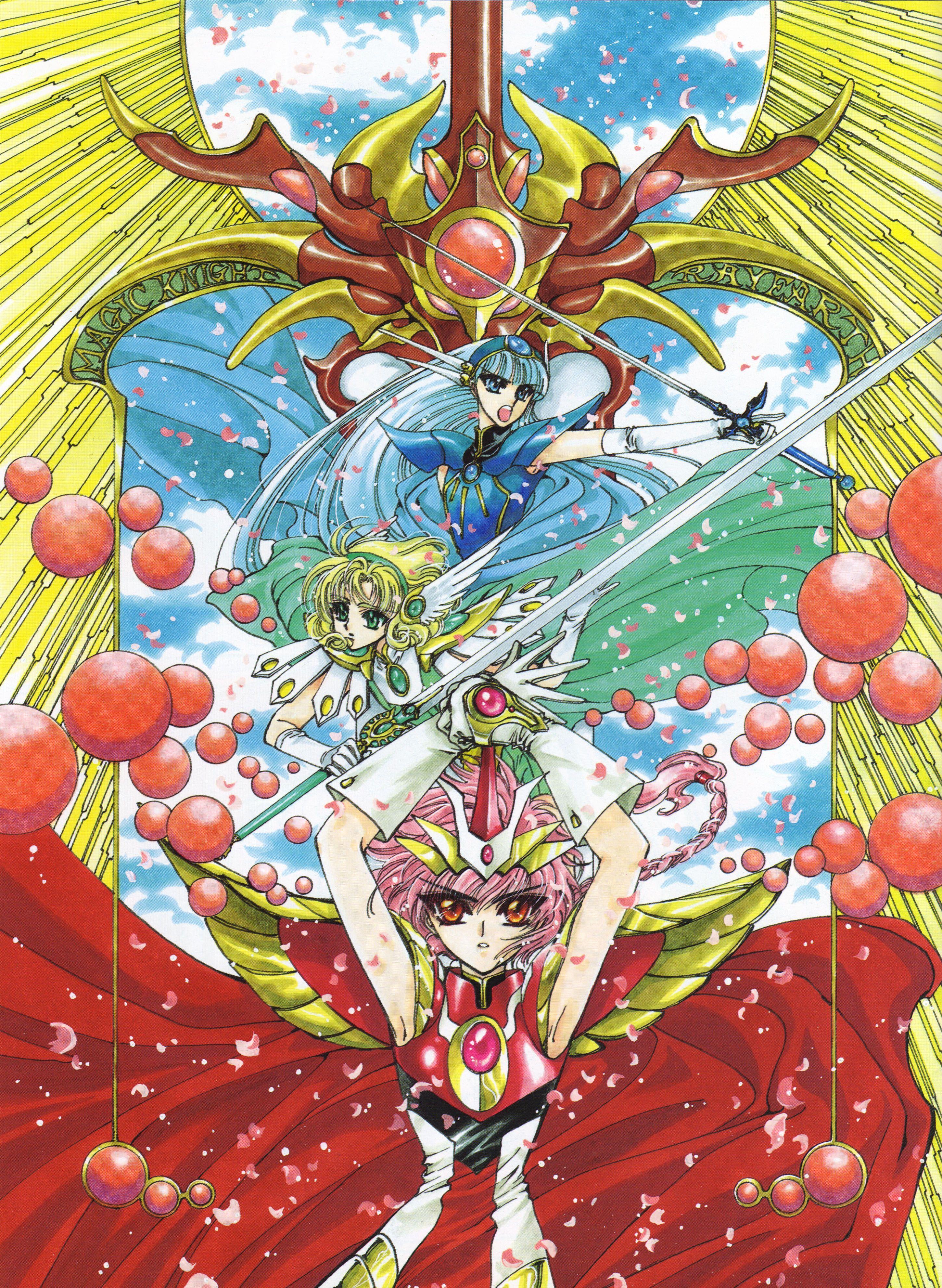 2900x3963 (54) Magical girl anime, Magic knight